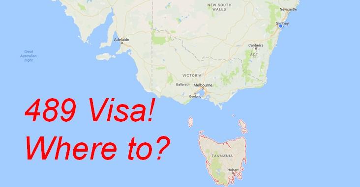 489 비자 신청을 위해 – 타지(Tasmania) vs SA – 어디가 나은가